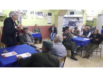 Ödemiş'te Emekli Öğretmenlerden Referandum Söyleşisi