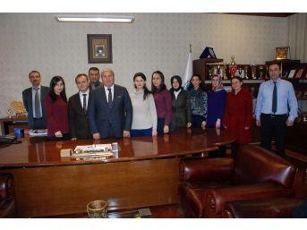 Aday Öğretmenlerden Başkan Arslan'a Ziyaret