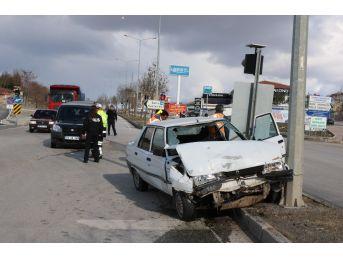 Yozgat'ta İki Ayrı Trafik Kazası: 1 Yaralı