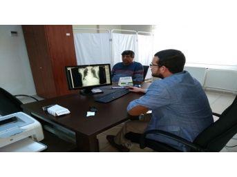 Gerger Devlet Hastanesine Dijital Röntgen Cihazı Alındı