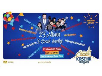 23 Nisan Çocuk Şenliği Masal Park'ta Yapılacak
