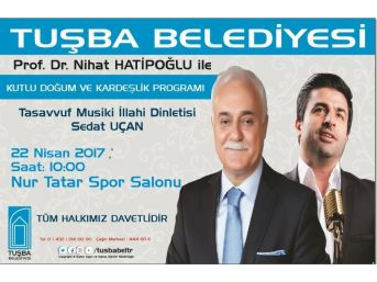 Prof. Dr. Nihat Hatipoğlu Van'a Geliyor