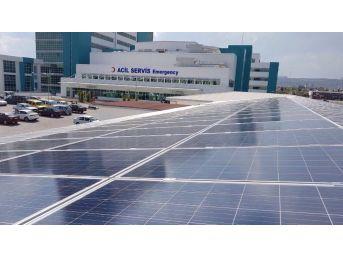 Kepez Devlet Hastanesinin Elektriği Güneşten Üretiliyor