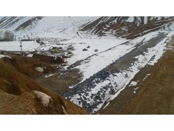 Bayburt Akşar Mehmet Aslan Barajı'nda Yüzde 75 Fiziki Gerçekleşmeye Ulaşıldı