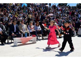 Bozüyük'te Miniklerin 23 Nisan Kutlamaları Devam Ediyor