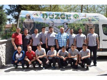 Güreşçiler Antalyaya Gidiyor