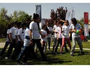 Gaziantep'te 'olimpik Gün' Şenliği Yapıldı
