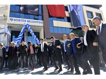 Kürtün Belediye Hizmet Binası Törenle Açıldı