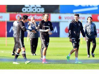 Beşiktaş'ta Medipol Başakşehir Maçı Hazırlıkları Başladı