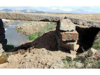 Define Avcıları Asırlık Köprünün Çevresini Kazdı