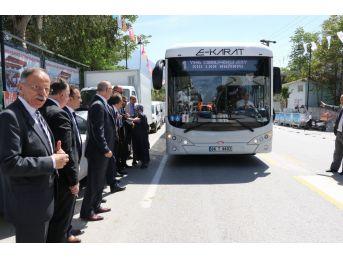 Elektrikli Otobüs Manisa Sokaklarında Test Sürüşüne Çıktı