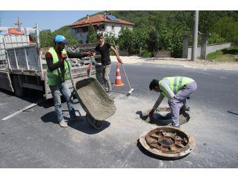 Kuzuluk Mahallesinde Asfalt Çalışmaları Sürüyor