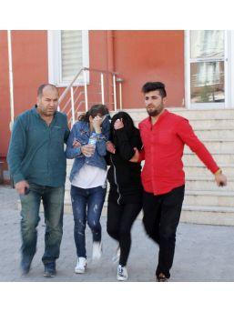 Tişört Çalan İki Genç Kız Tutuklandı
