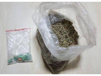 Uyuşturucu Ile Yakalanan 4 Şüpheliden 1'i Tutuklandı