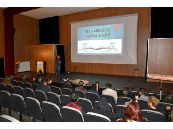 İpekyolu Belediyesi Personeline İlkyardım Eğitim