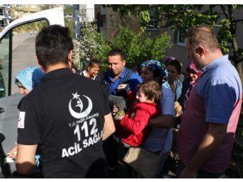Ayağının Üzerinden Kamyonet Geçen Çocuk Yaralandı