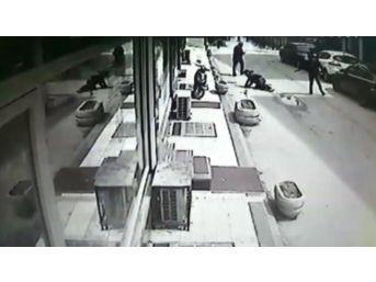 Düzce'de Silahlı Yaralama Kameralara Yansıdı