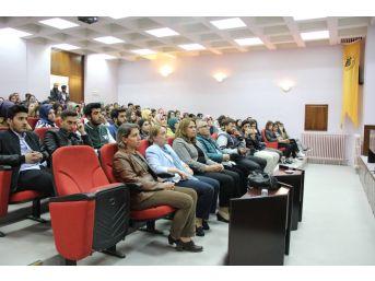 'kadına Şiddet' Konferansı Düzenlendi