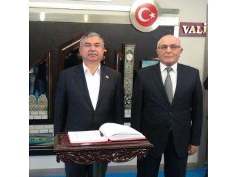 Milli Eğitim Bakanı İsmet Yılmaz, Adana'Da