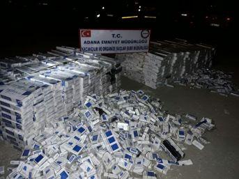 Tırlardan 108 Bin 400 Adet Kaçak Sigara Çıktı