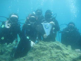 Düzce Üniversitesi Su Altı Topluluğu Dalış Eğitimlerine Devam Ediyor