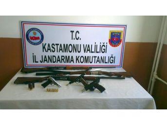 Taşköprü'de Silah Operasyonu