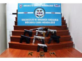 İzmit'te Silah Operasyonu