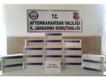 Suriyeli Yolcunun Bagajında 480 Paket Kaçak Sigara Ele Geçirildi