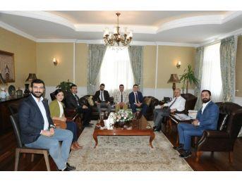Erzurum Gençlik Platformu'ndan Vali Azizoğlu'na Ziyaret