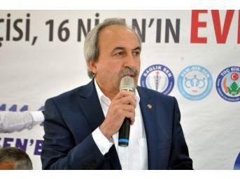 """Eğitim Bir Sen Kayseri Şube Başkanı Aydın Kalkan: """"iyi Bir Gençliğe Sahip Milletin Bugünü Zafer, Yarını Bayramdır"""""""