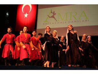 Amra Dans Ekibi Yine Büyüledi
