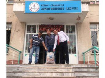 Cihanbeyli'de Atık Pil Toplama Kampanyası