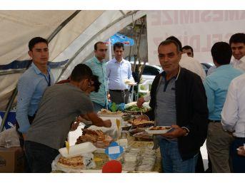 Siverek'te İhtiyaç Sahibi Aileler Yararına Kermes Düzenlendi