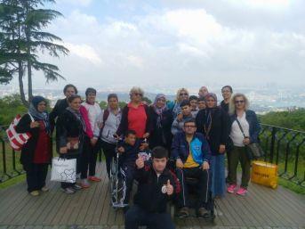 Adanalı Engelliler İstanbul'u Gezdi