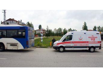 Otobüs İle Kamyon Çarpıştı: 10 Yaralı