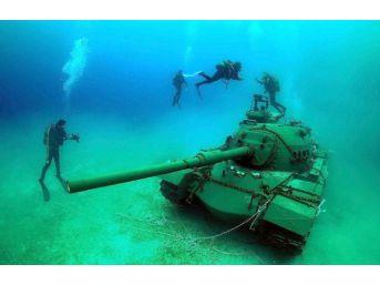 45 Tonluk Tank, Deniz Dibine İndirildi