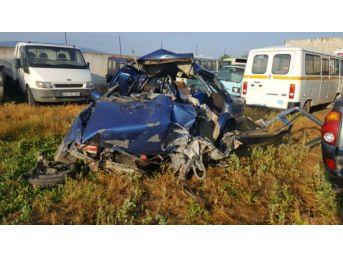Aydın'da Trafik Kazası; 1 Ölü, 2 Yaralı