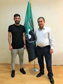 Denizlispor'da Cihan'da Sözleşme Yeniledi