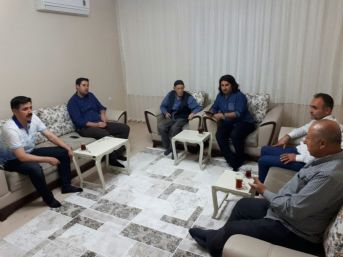 Başkan Gülenç, İlk Çat Kapı Ziyaretini Şehit Ailesine Yaptı
