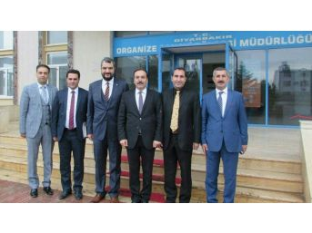 Diyarbakır Osb'ye Ziyaret