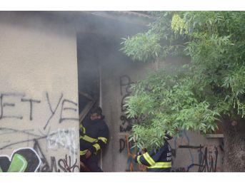 Kullanılmayan Evde Çıkan Yangın Korkuttu