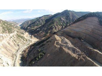 Isparta Darıderesi 2 Barajı'nda Çalışmalar Devam Ediyor
