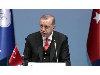 Cumhurbaşkanı Erdoğan, Ermenistan Temsilcisinin Konuşmasını Eleştirdi