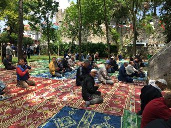 Tarihi Namazgah Mehteranla Açıldı