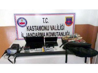 Kastamonu'da Kaçak Kazı Operasyonu: 6 Gözaltı