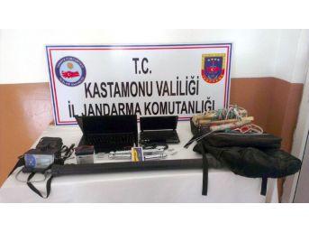 Kastamonu'da Kaçak Kazı Operasyonu