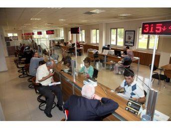 Selçuklu'da Vezneler Hafta Sonu Açık