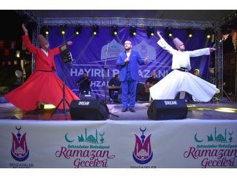 Altunağa Ramazan Gecelerine Renk Kattı