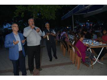 Başkan Kayda, İlk İftarını Vatandaşlarla Birlikte Açtı