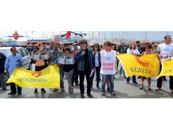 Bodrum'da Tutuklama Tepkisi